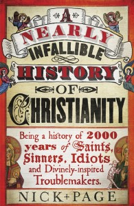 A nearly Infallible History of Christianity cover
